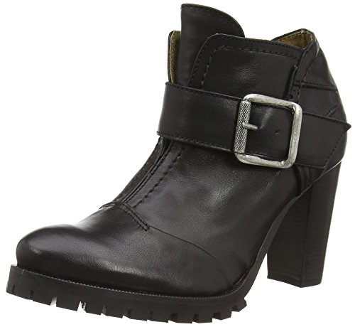 dkode HETTIE, Decolleté open toe donna, Nero (Schwarz (BLACK 006)), 38