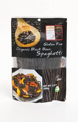 Explore Asian Organic Black Bean Spaghetti, 7.05-Ounce (Pack of 6)