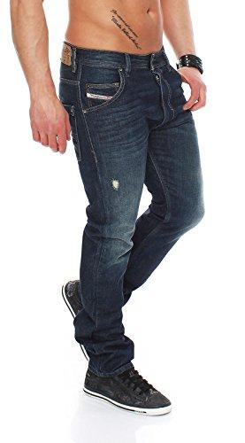 diesel-jeans-homme-bleu-m