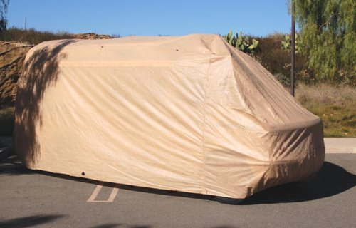 "Conversion Van Cover. Class B RV Cover. fit Long Wheelbase, 86"" High Top Van."