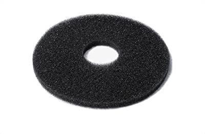 New Star Foodservice 48384 Replacement Sponges for The Bar Glass Rimmer (Set of 4), Black
