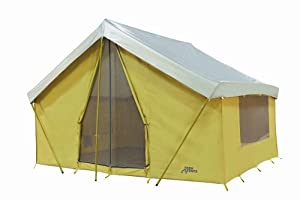 Trek Tents 10 x 14' Canvas Cabin Tent Khaki