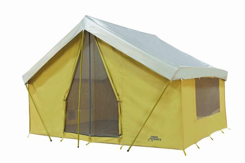 sc 1 st  Competitive Edge Products & Trek Tents 10 x 14u0027 Canvas Cabin Tent Khaki
