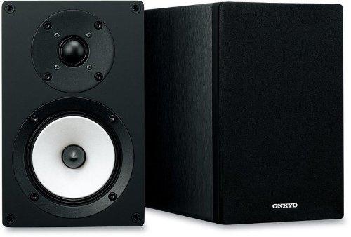 Onkyo-D-055-Bassreflex-Lautsprecher-2-wege-bis-35KHz-70-Watt-schwarz