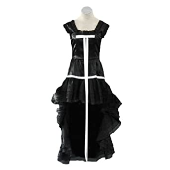 Chobits Cosplay Costume - Chii Black Dress 1st Large