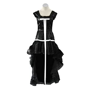 Chobits Cosplay Costume - Chii Black Dress 1st Kid Large