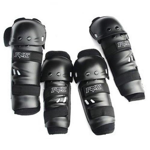 Protezioni per gomiti e ginocchia per moto, motocross, Racing Rider, sport estremi, ecc. [4pz/set]