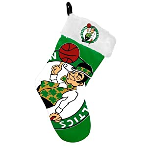 Boston Celtics 2012 Big Logo Plush Stocking by Forever Collectibles