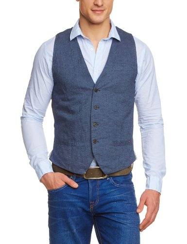 Scotch & Soda Dressed Summer Men's Gilet Dessin E Medium
