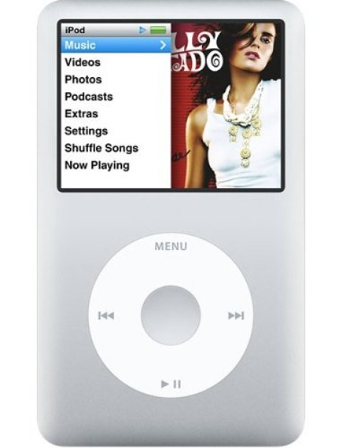 apple-ipod-classic-160-gb-silver-6th-generation-discontinued-by-manufacturer