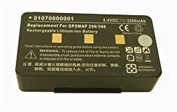 Dekcell Battery for Garmin GPSMAP 276C, 296, 376C, 378, 396, 478, 496 GPS