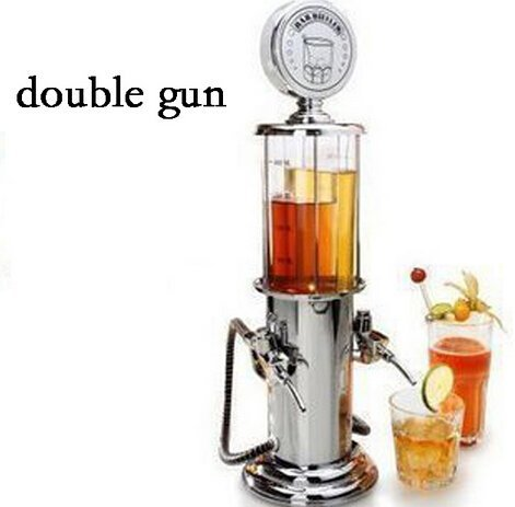 Cheap Single/double Gun Barware Mini Beer Pourer Water Liquid Drink Dispenser Wine Pump Dispenser Ma...