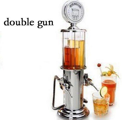 ActionFly Gun Barware Mini Beer Pourer Water Liquid Drink Dispenser Wine Pump Dispenser Machine (Double Gun) (Cool Bar Accessories compare prices)