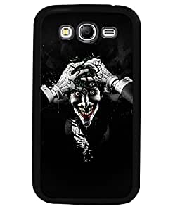Fuson 2D Printed Ghost Designer back case cover for Samsung Galaxy Grand 2 - D4449