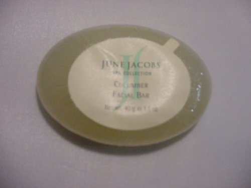 June Jacobs Cucumber Facial Soap Bar Lot Of 12 Each 1.5Oz Bars. Total Of 18Oz