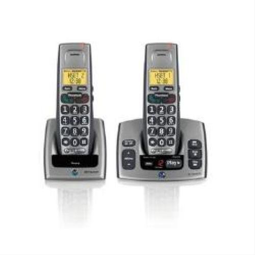 :BT, Freestyle 750 Twin Cordless Handset with Answering Machine (Grey) images