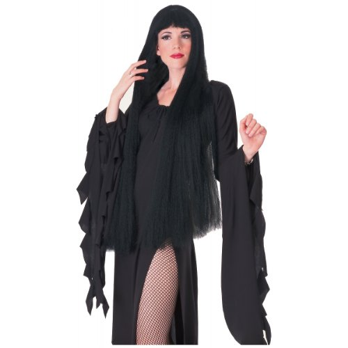 Black Witch Wig Costume Accessory
