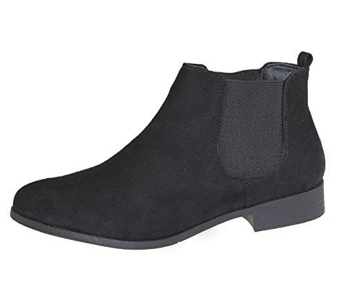 Womens Ankle Boots Color Black Suede Size UK 5 EU 38 US 7
