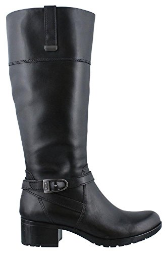 Bandolino Women's Baya-Wide Calf Riding Boot, Black, 10 M US