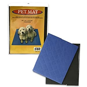 "Dog or Cat Pet Mat for Bed / Crate or Floor, 39.25"" X 19.625"""