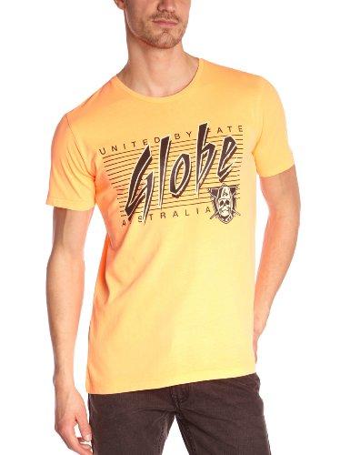 Globe Raiders - Maglietta a maniche corte, Arancione (Arancione fluo), S