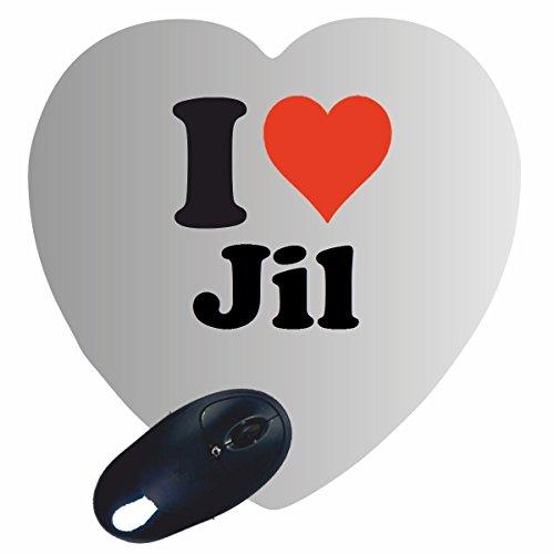 esclusivo-cuore-tappetino-mouse-mousepad-i-love-jil-una-grande-idea-regalo-per-il-vostro-partner-col