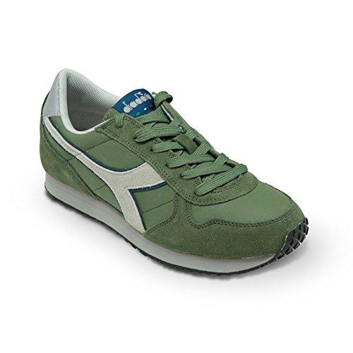 Scarpe Sneaker Uomo DIADORA Modello K RUN L II Colore Green Olivina (46 - Green Olivina)