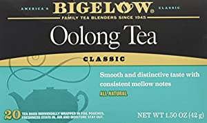 Bigelow Oolong Tea Classic 20 Count by Bigelow Tea