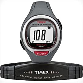 Timex Easy Trainer Heart Rate Monitor Watch - T5K537