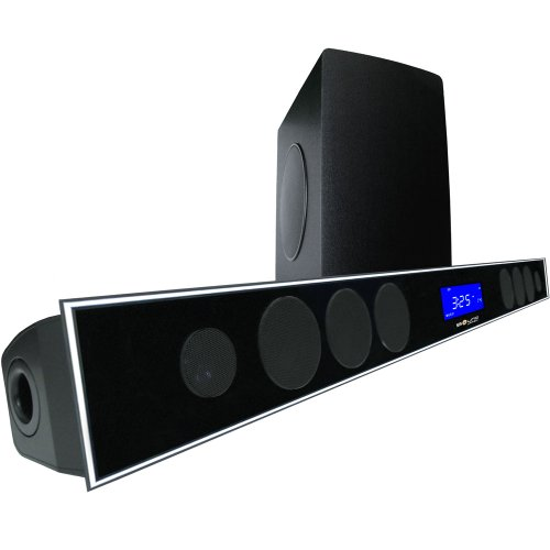 "2.1 Soundbar W 8.0"" Wireless Subwoofer And Maxbass Chip By Sound Appeal"