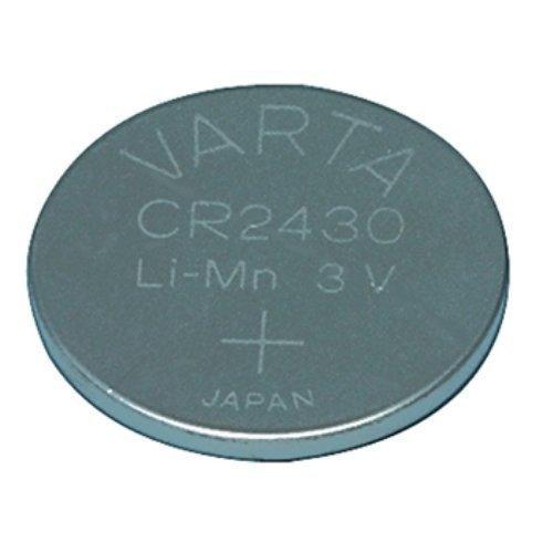 VARTA Lot de 10 piles-boutons 3V VARTA CR2430