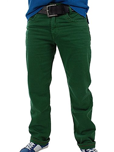 MAC Herren Jeans 0973 Arne 08-Stretch, 33/34, grün