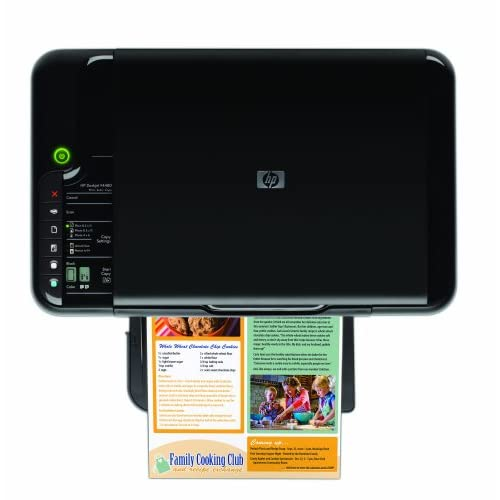 HP Deskjet F4480 Error Print cartridge is missing, incorrectly installed thumbnail