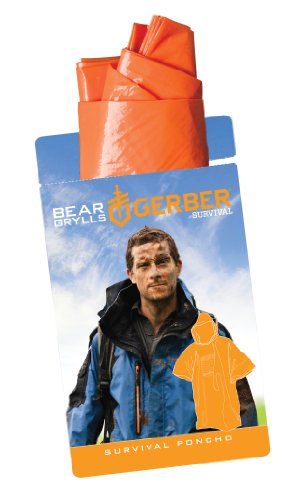 Gerber 31-001790 Bear Grylls Survival Poncho at Amazon.com
