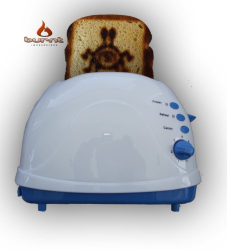 Flying Spaghetti Monster Toaster (FMS) (Blue)