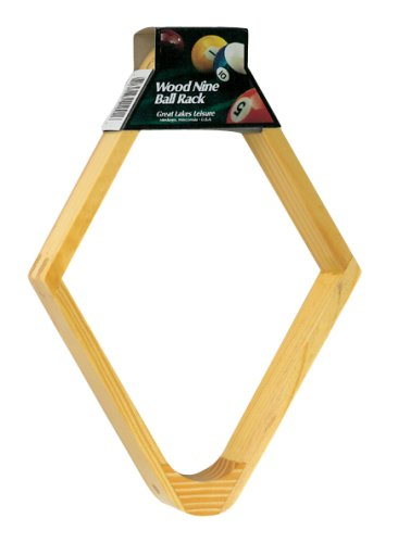 Cheap Viper Wood 9 Ball Billiard Rack