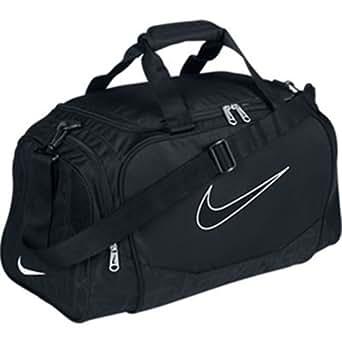 Nike Brasilia 5 Small Duffel Gym Bag Black Size Small