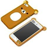 PGA iPhone 5s/5専用 サンエックス スターティングTPUバンパーセット リラックマ YY00410