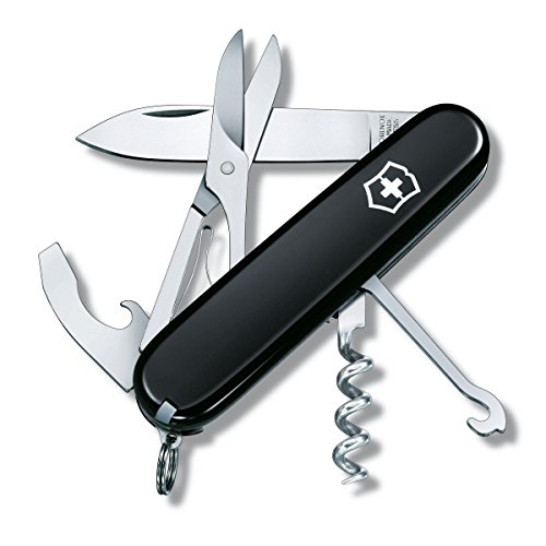 Victorinox Swiss Army Compact Pocket Knife (Black)