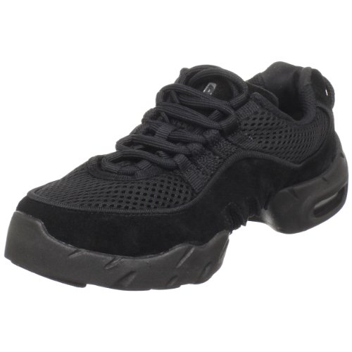 Bloch Dance Boost Mesh Sneaker (Toddler/Little Kid),Black,2 X Us Little Kid front-568928