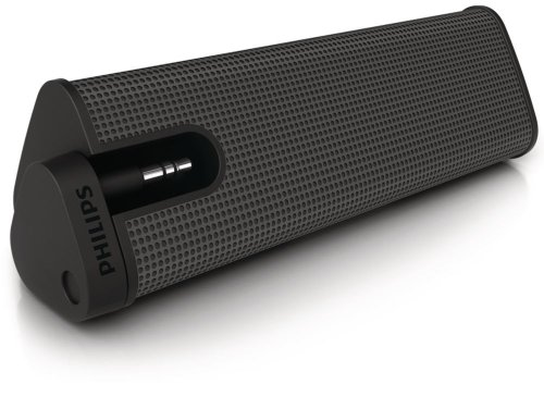 Philips Sba1610Blk/37 Portable Speaker (Black)