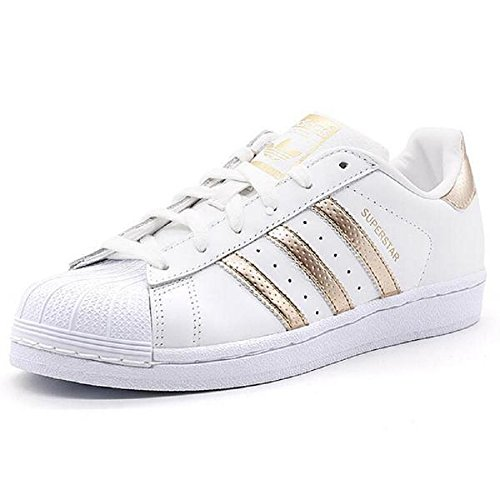 adidas originals women 39 s superstar w fashion sneaker womens 6 5 rose gold adidas women. Black Bedroom Furniture Sets. Home Design Ideas