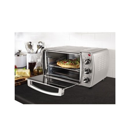 Oster 6-Slice Convection Countertop Oven, Brushed Stainless Steel (Toast Oven Oster compare prices)