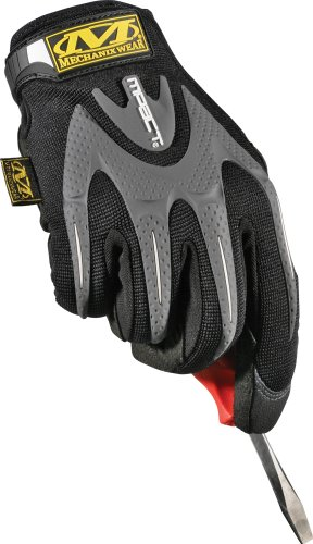 Mechanix Wear MMP-05-009 M-Pact Glove, Black, Medium