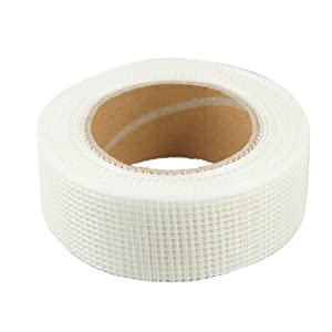 "Self Adhesive 1.7"" Width White Fiberglass Mesh Joint Tape"