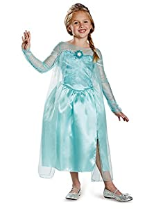 Disguise Disney's Frozen Elsa Snow Queen Gown Classic Girls Costume by Amazon.com, LLC *** KEEP PORules ACTIVE ***