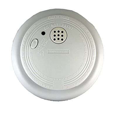 Universal Security Instruments USI-1209 120-Volt AC/DC Wired-In Ionization Smoke and Fire Alarm from Universal Security Instruments
