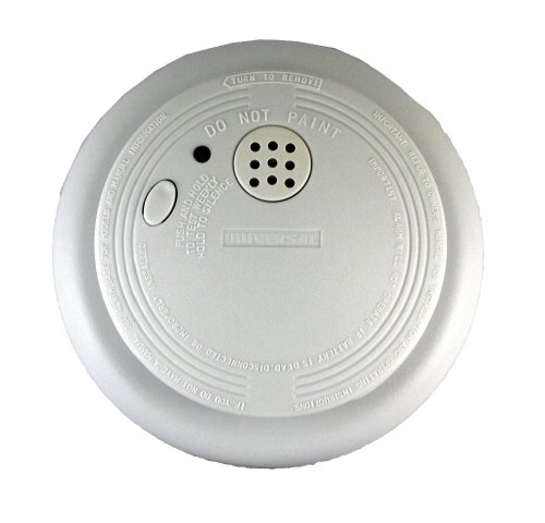 Universal Security Instruments SS-790 120-Volt AC/DC Wired-In Ionization Smoke and Fire Alarm