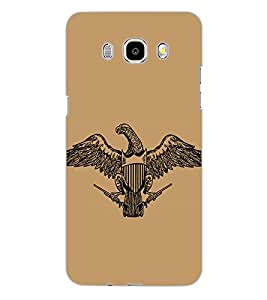 SAMSUNG GALAXY J5 2016 EAGLE Back Cover by PRINTSWAG