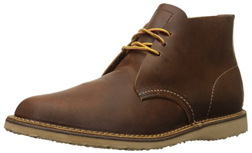 Red Wing Weekender Chukka Mens Leather Ankle Boots Copper - 42 EU